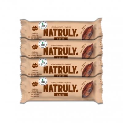 Barrita Raw - Cacao Pack x4   BIO 40g