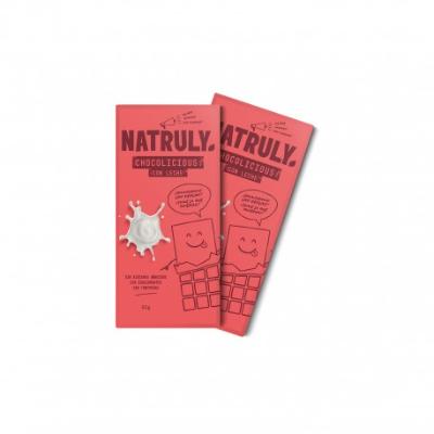 Tableta de Chocolate con Leche sin Azúcar y sin Edulcorantes - Pack x2    2x85g